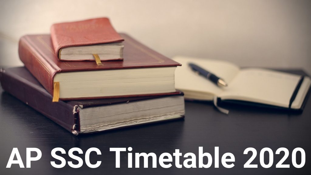 AP SSC Timetable 2020