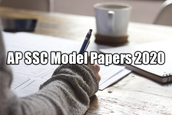 10th Class Model Paper 2020 AP