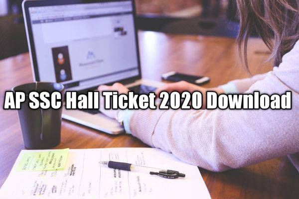 AP SSC Hall Tickets 2020